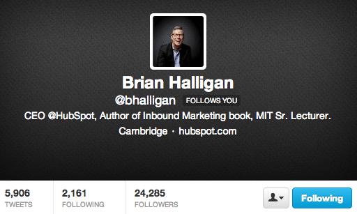 Brian Halligan