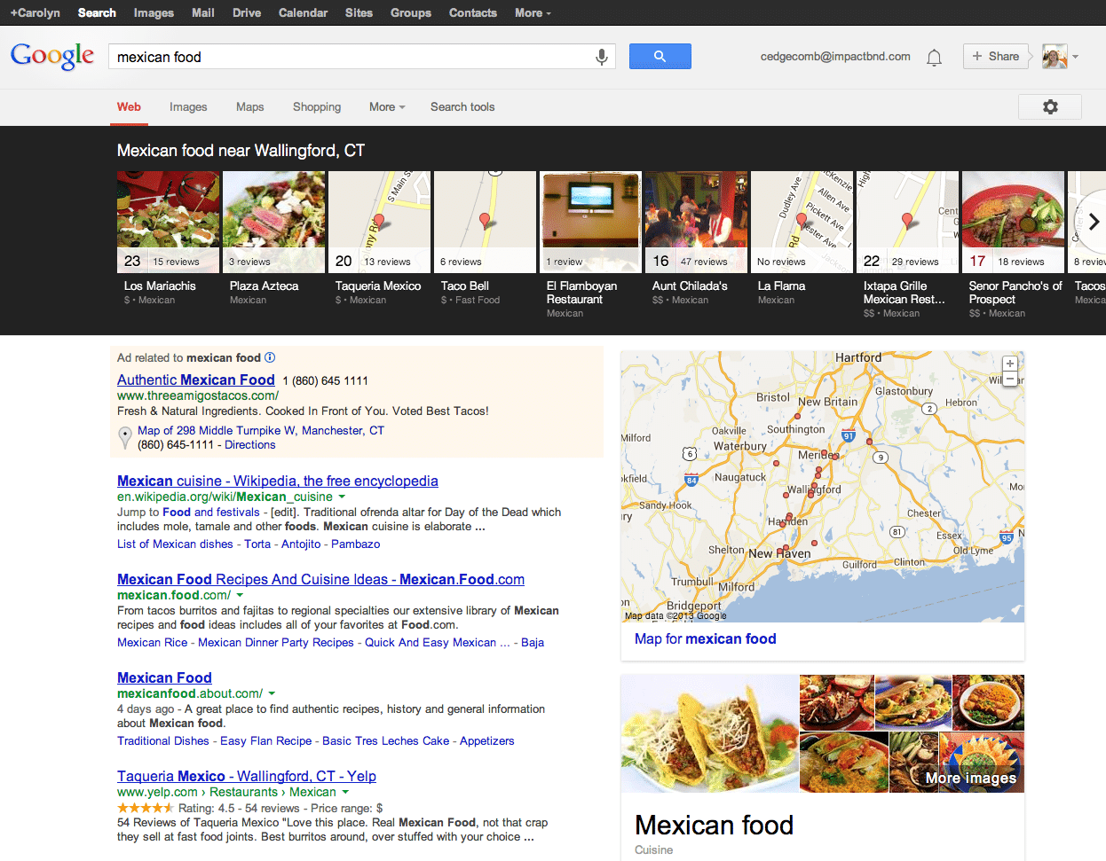 Mexican Food Google Search