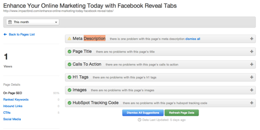 Get On-Page SEO Ready with HubSpota