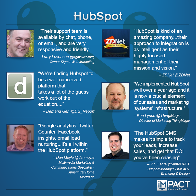 INFOGRAPHIC: Expert Quotes on HubSpot