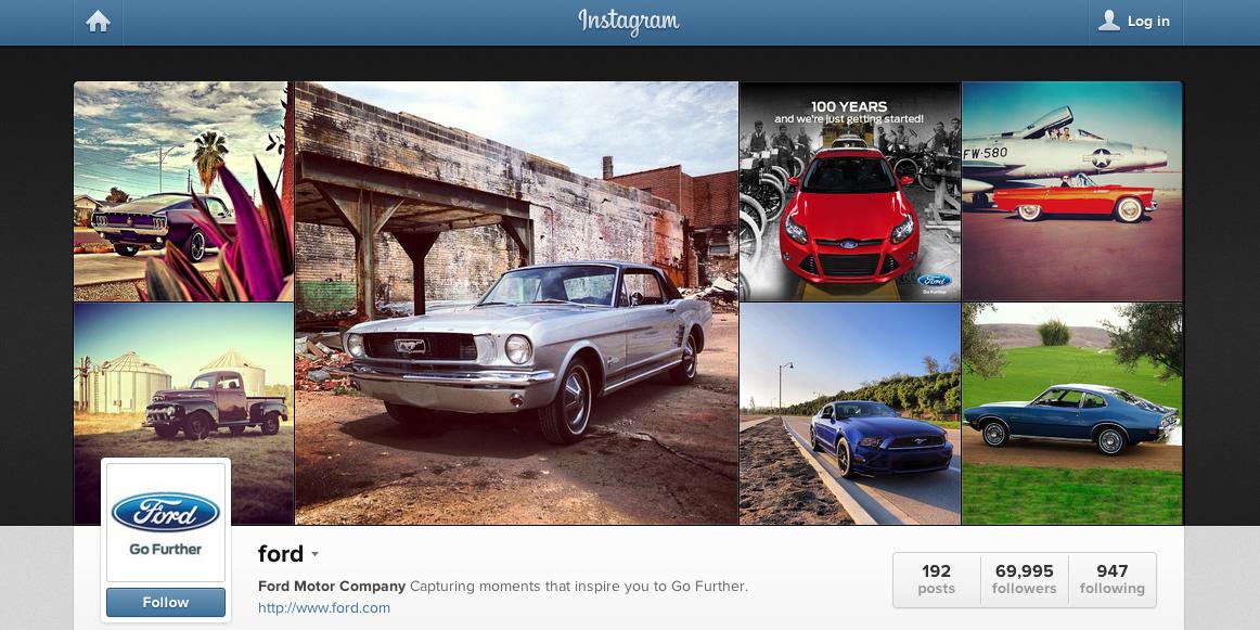 Instagram Ford