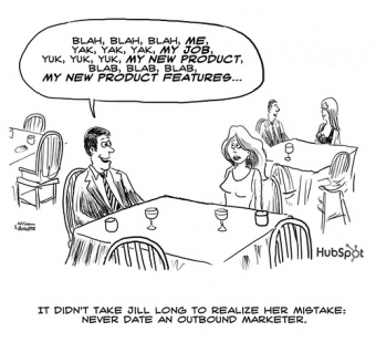 """Are you """"Dating"""" an Outbound Marketer? – Funny Pic of the Week"""