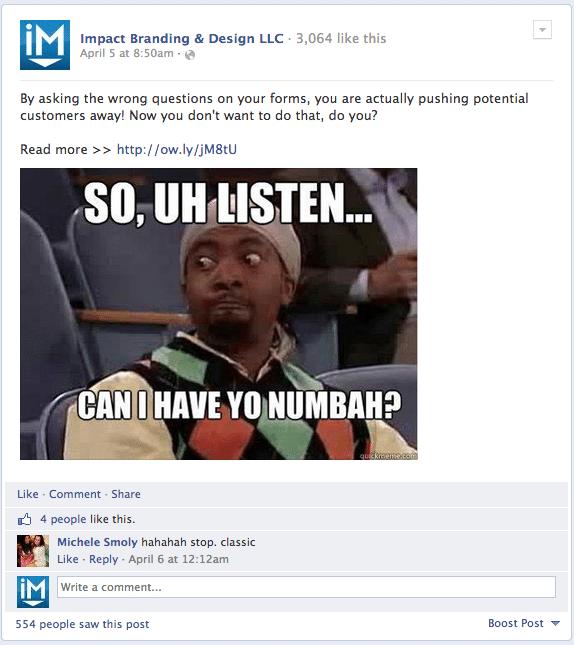 Facebook - IMPACT 3