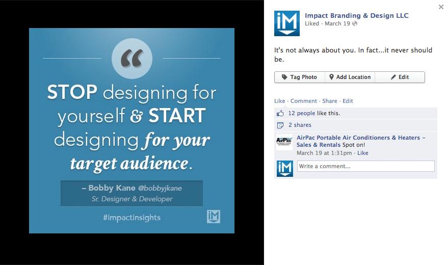 Facebook - IMPACT 4