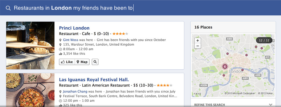 Facebook Graph Search: 2 Opportunities You're Currently Missing