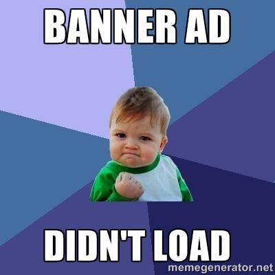 Banner Ad meme