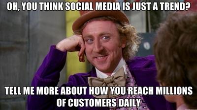 Social media meme 1