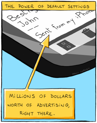 marketing from your iPhone