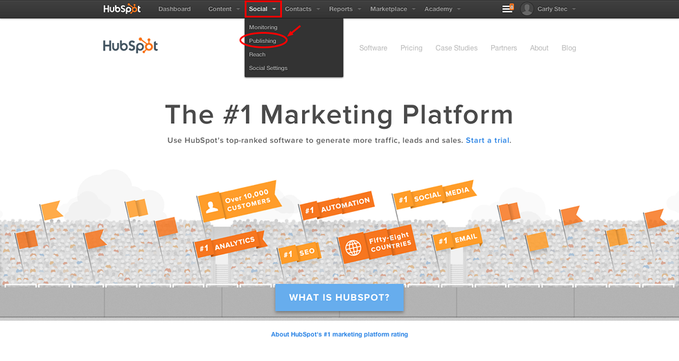 HubSpot How-To: Scheduling Social Media Posts