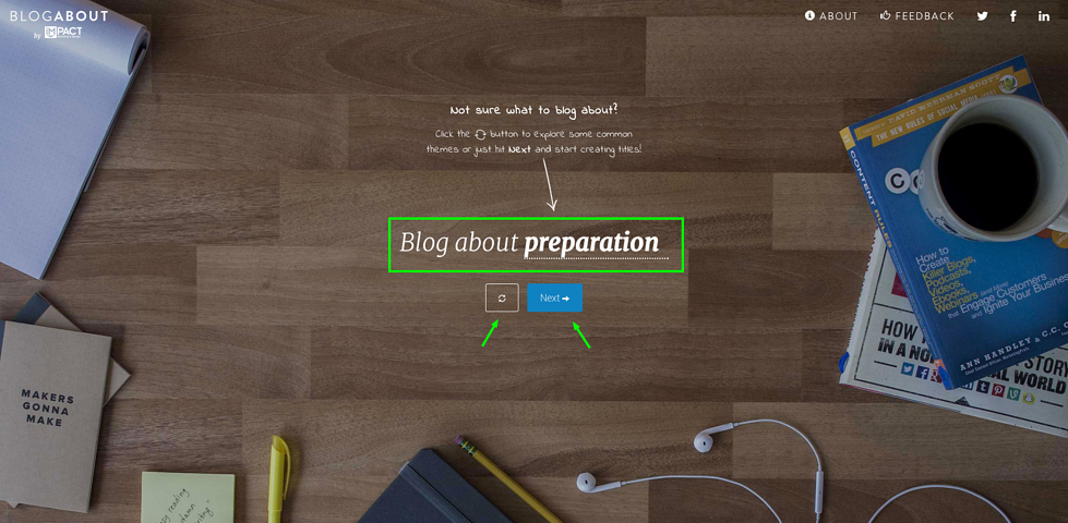 Introducing BlogAbout: Our Solution for Writer's Block [Free Tool]