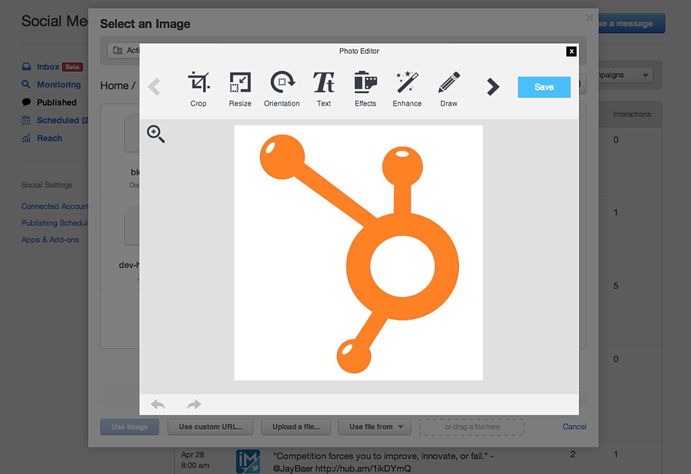 How to Spice Up Your Social Media With HubSpot's Photo Editor