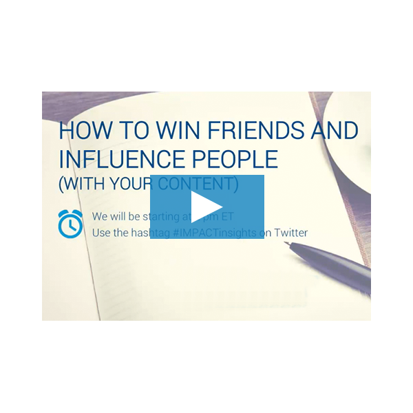 Inbound Marketing Webinar - How to Win Friends and Influence People