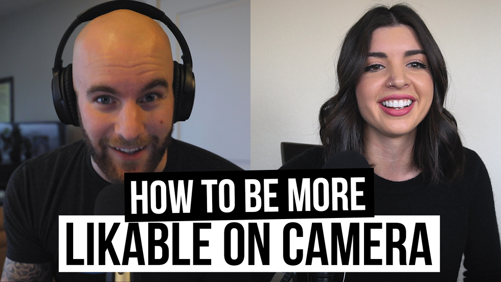 """""""How To Be More Likable On Camera"""" [Film School For Marketers Podcast, Ep. 3]"""