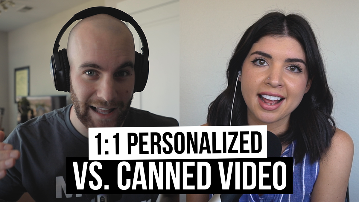 Personalized vs. Canned Video: What to Use & When During the Sales Process [Film School for Marketers Podcast, Ep. 7]