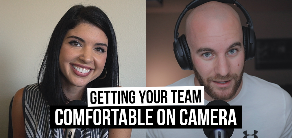 How to Get Your Team Comfortable on Camera [Film School For Marketers Podcast, Ep. 23]