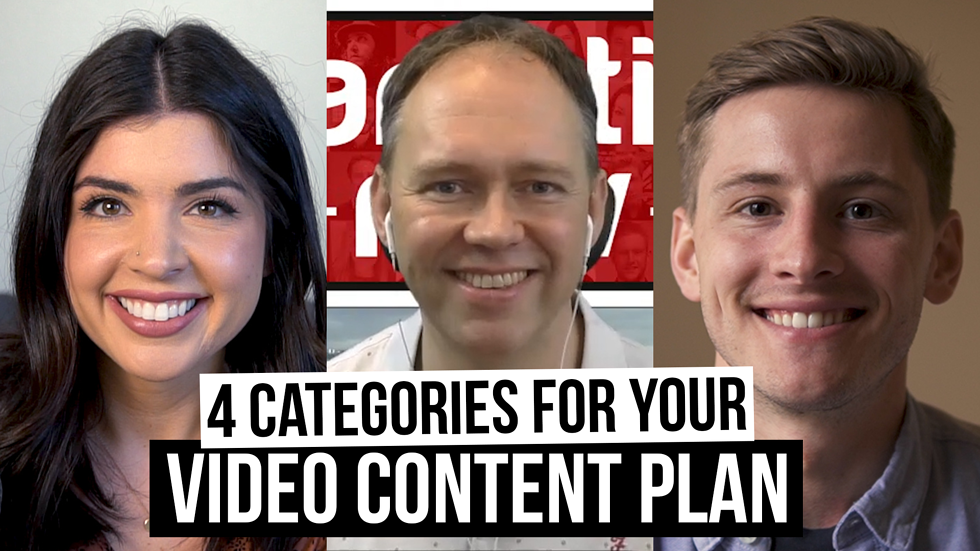 The 4 H's: Musts of a great video content plan (with David Bain)[Film School for Marketers, Ep. 36]