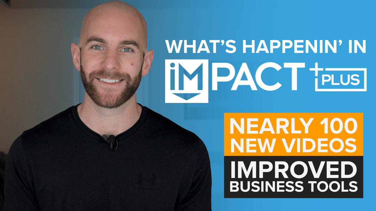 What's Happenin' in IMPACT+ (September 2020)