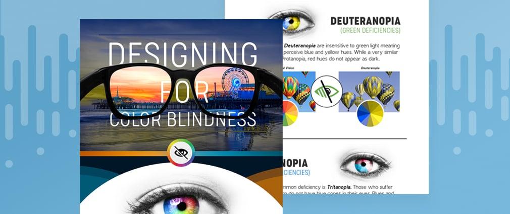 Expert tips on designing for color blindness — from a color-blind designer [Infographic]