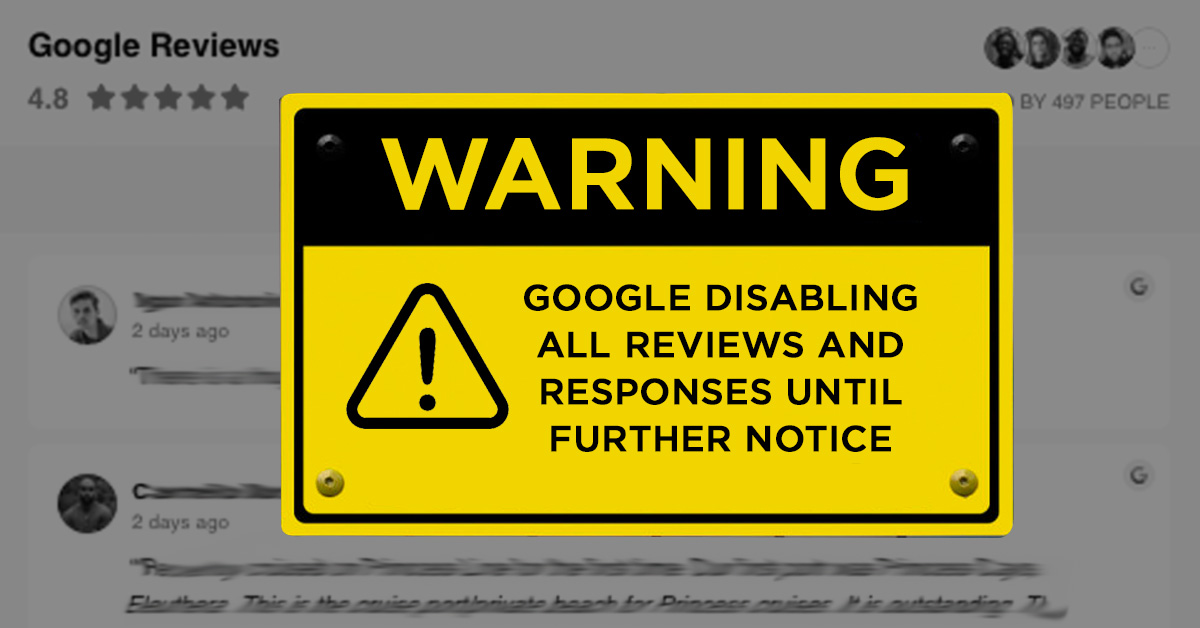 Google reviews slowly being released from quarantine