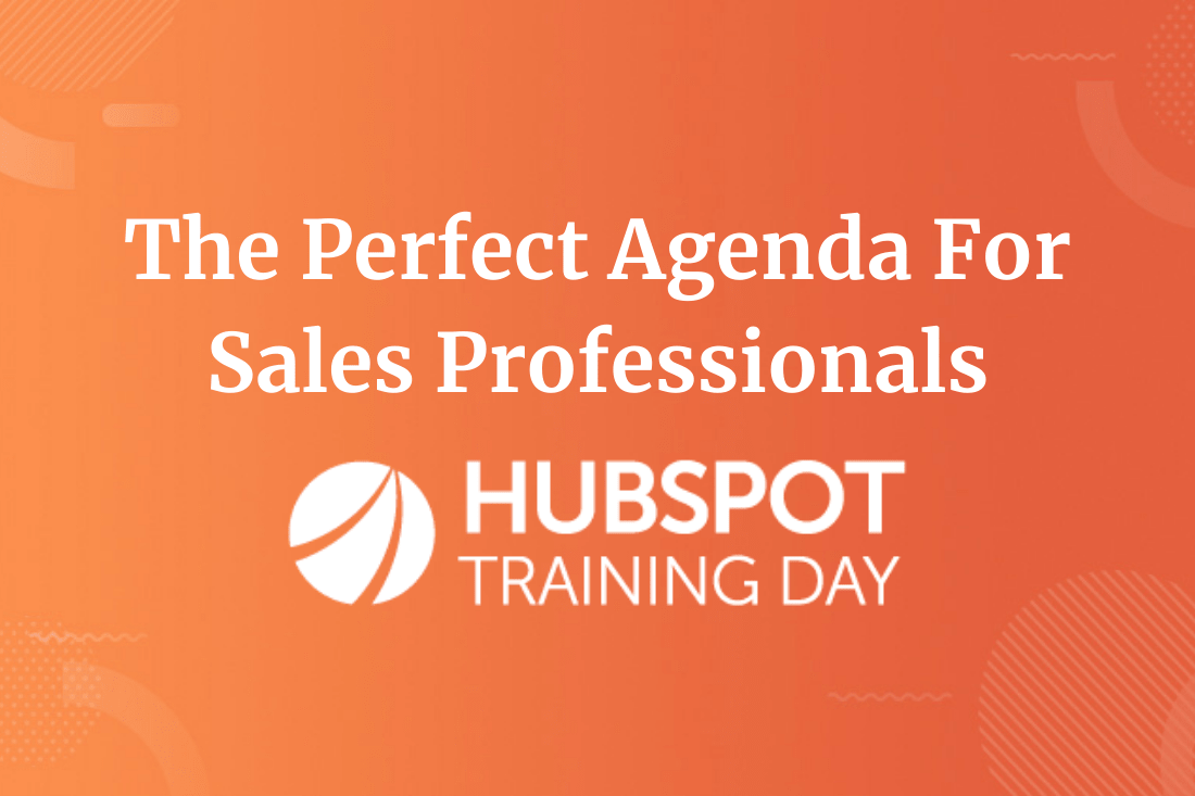 Why sales pros need to attend HubSpot Training Day (and the sessions you won't want to miss)