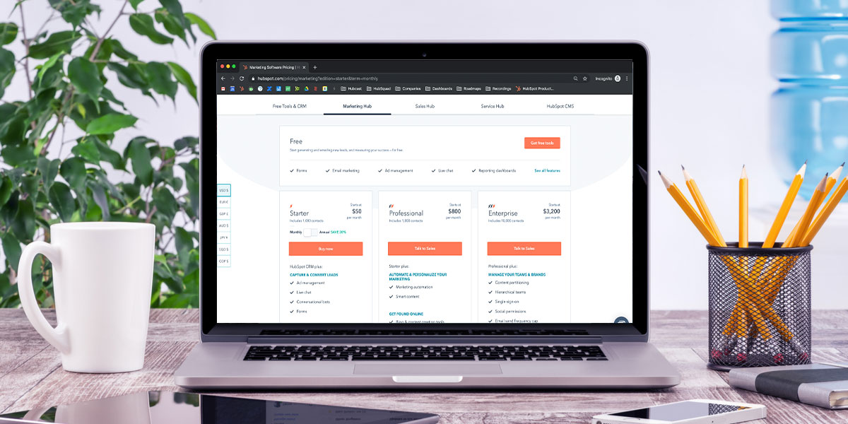 HubSpot pricing: Your guide to everything HubSpot costs for 2021