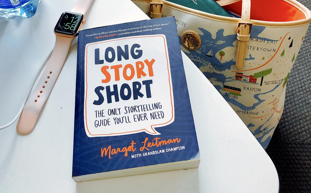 Long Story Short: The Only Storytelling Guide You'll Ever Need by Margot Leitman (Book Review)
