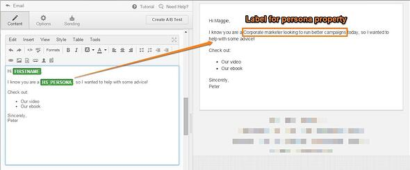 Personalization_showing_label_in_Email