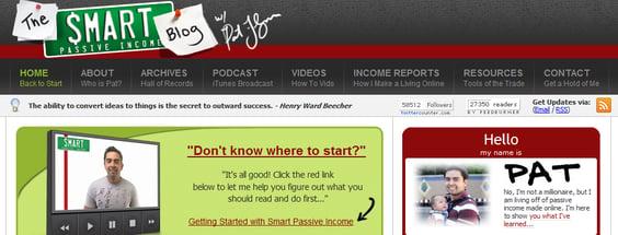 Smart Passive Income Header