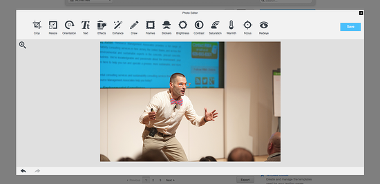 Hubspot Image Editor