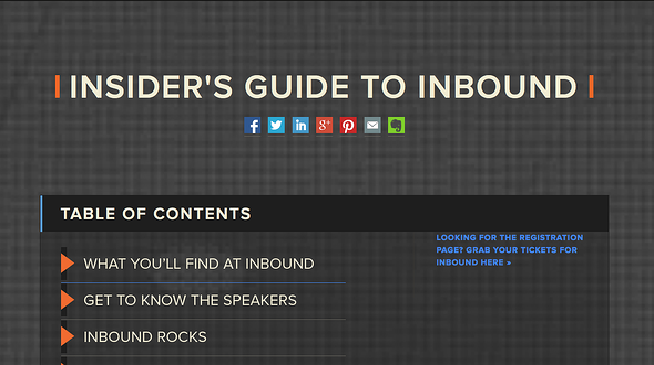 Inbound Insiders Guide