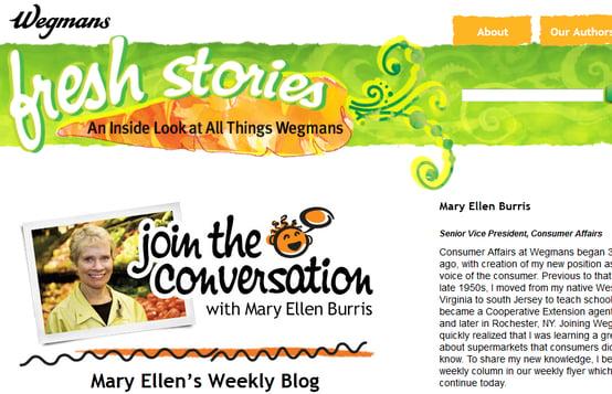 Wegmans Blog