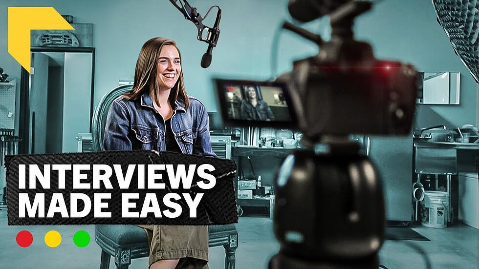"""Videographer Tips: How to """"Make Lemonade"""" When Preparing Your Interview Video Shoot [VIDEO]"""