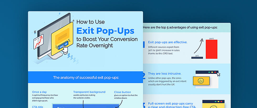 A Visual Guide to Exit Pop-Ups People Won't Hate [Infographic]