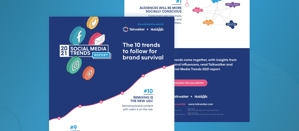 The top 10 social media trends for brand survival in 2021 [Infographic]
