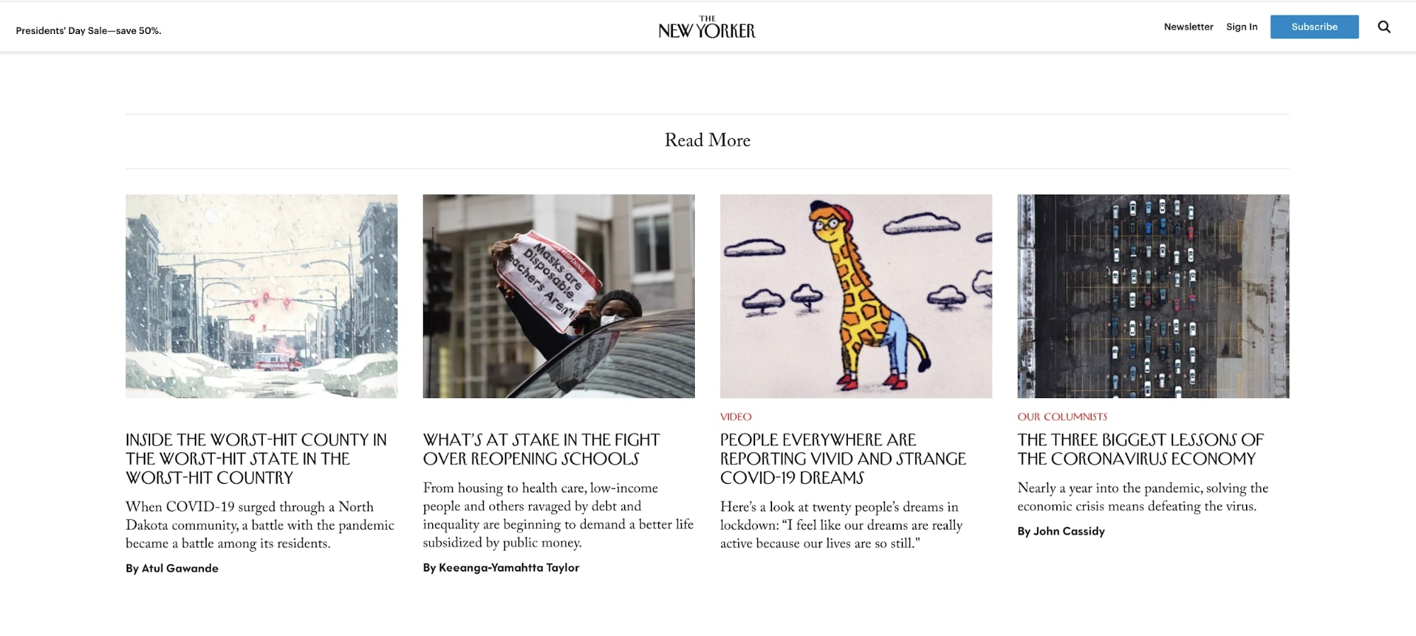 Related Articles New Yorker