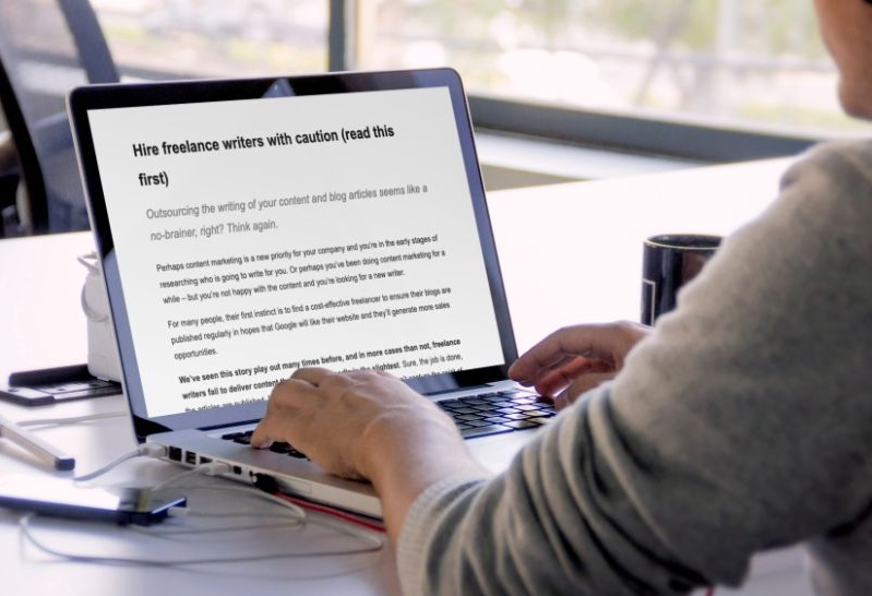 Hire Freelance Writers with Caution (Read this First)