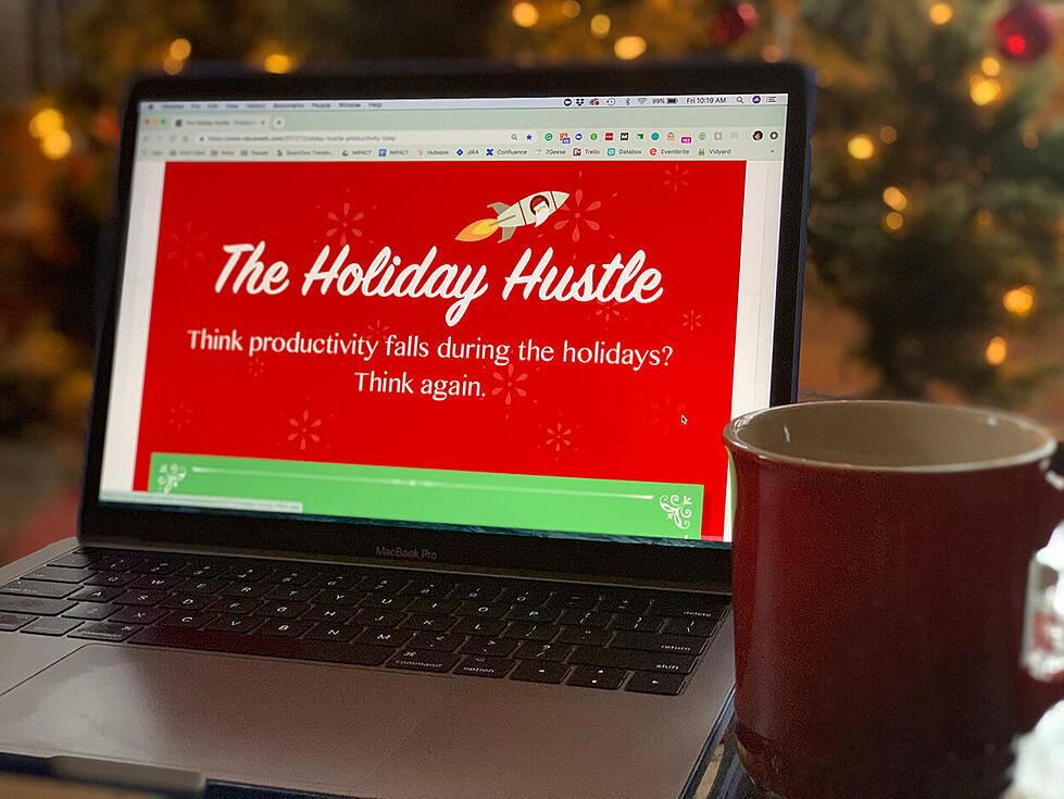 Hustling Every Day [Especially On The Holidays! [Infographic]