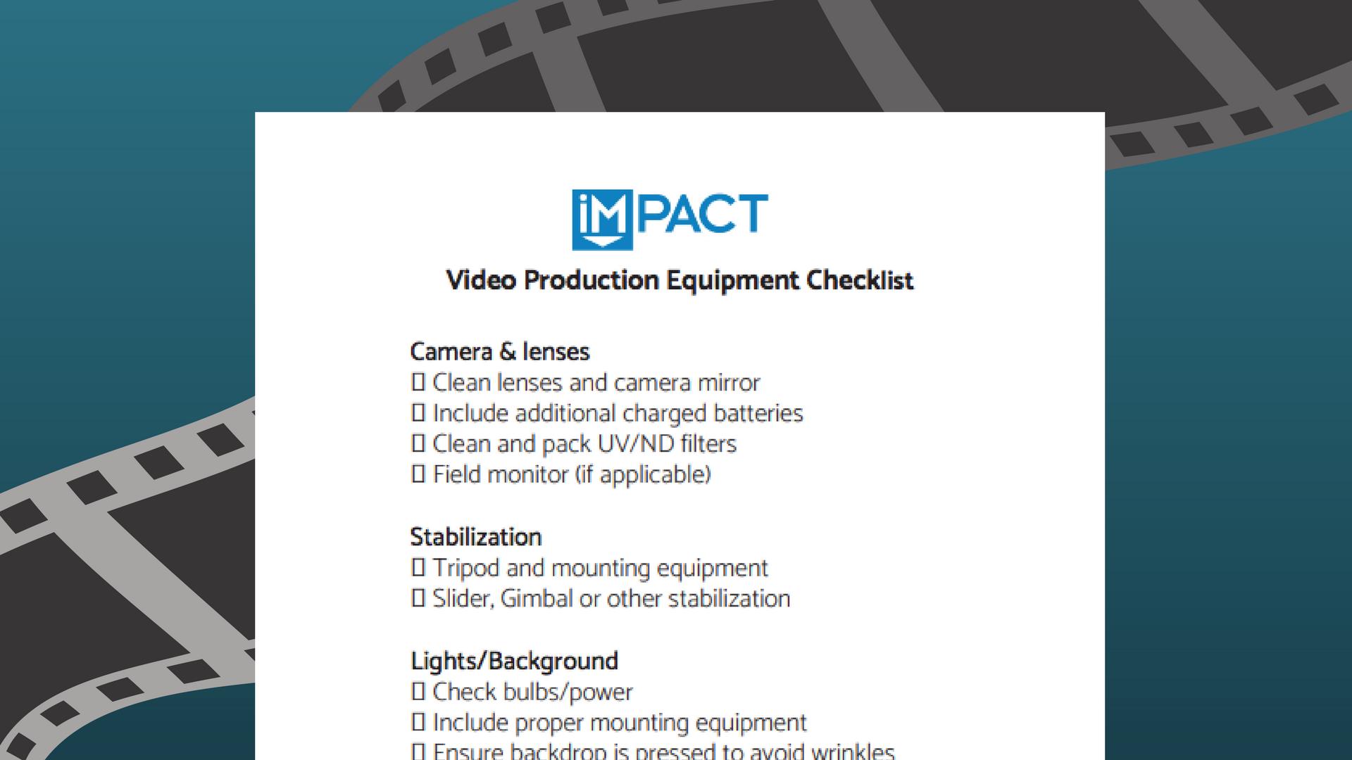 video-marketing-equipment-checklist