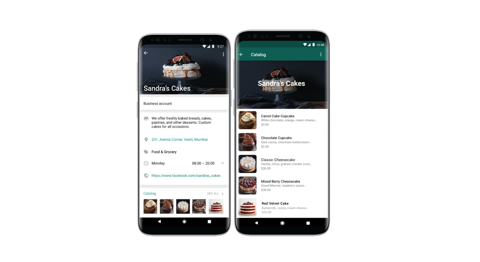 Business owners can now create product catalogs directly in WhatsApp