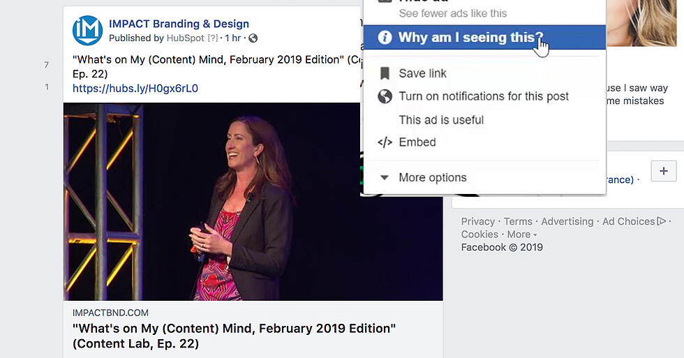 """""""Why Am I Seeing This? -- A New Level of Ad Transparency is Coming to Facebook"""