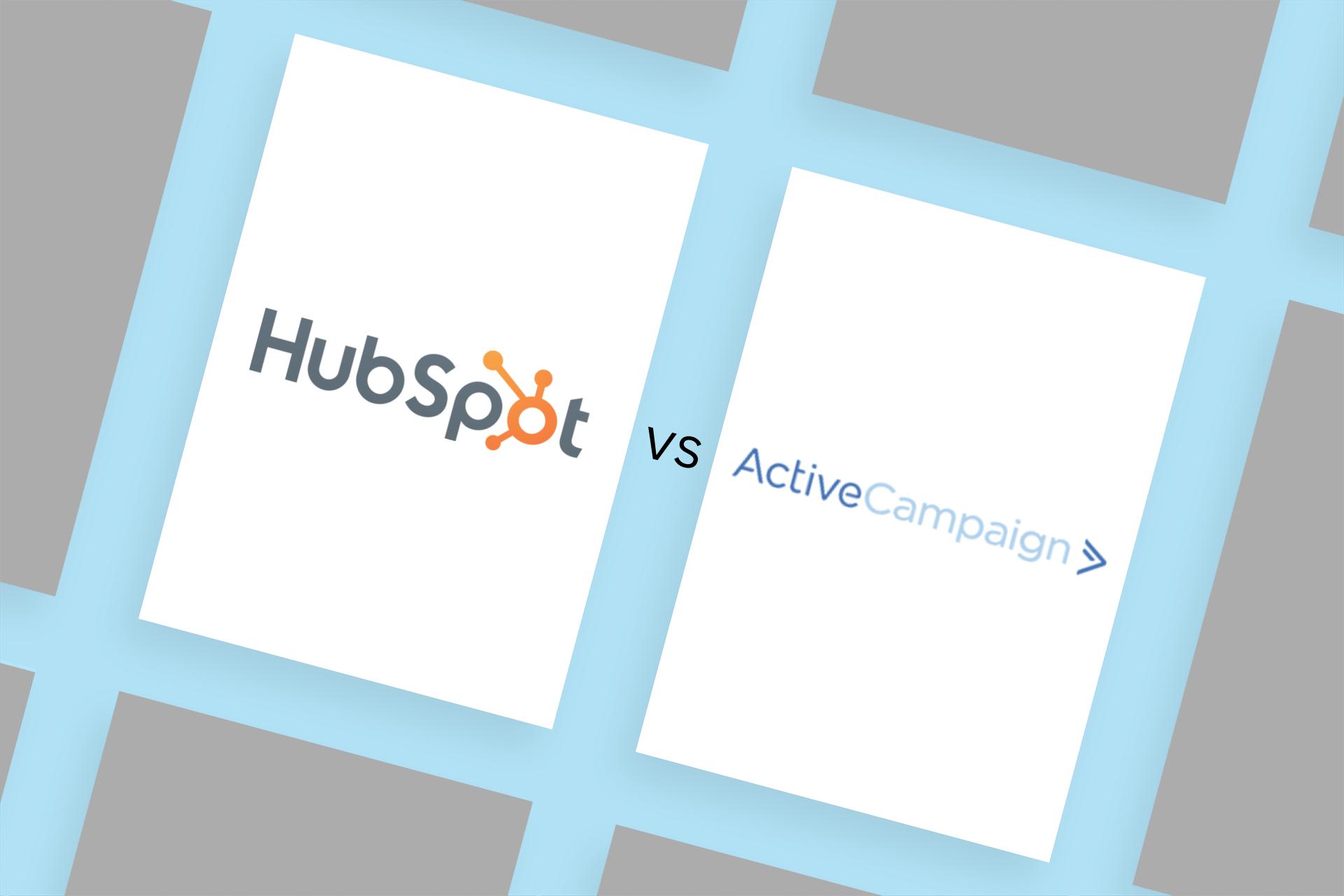 HubSpot vs. ActiveCampaign: a head-to-head comparison
