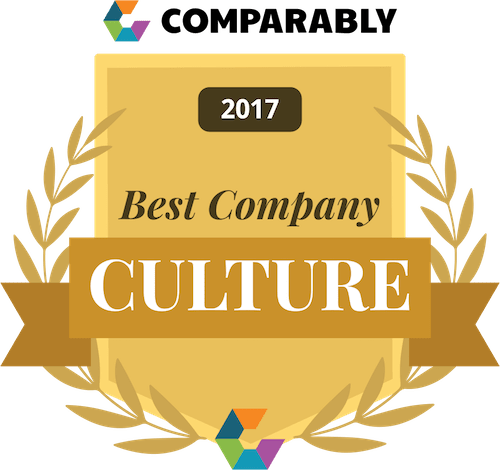 Comparably Best Company Culture 2017