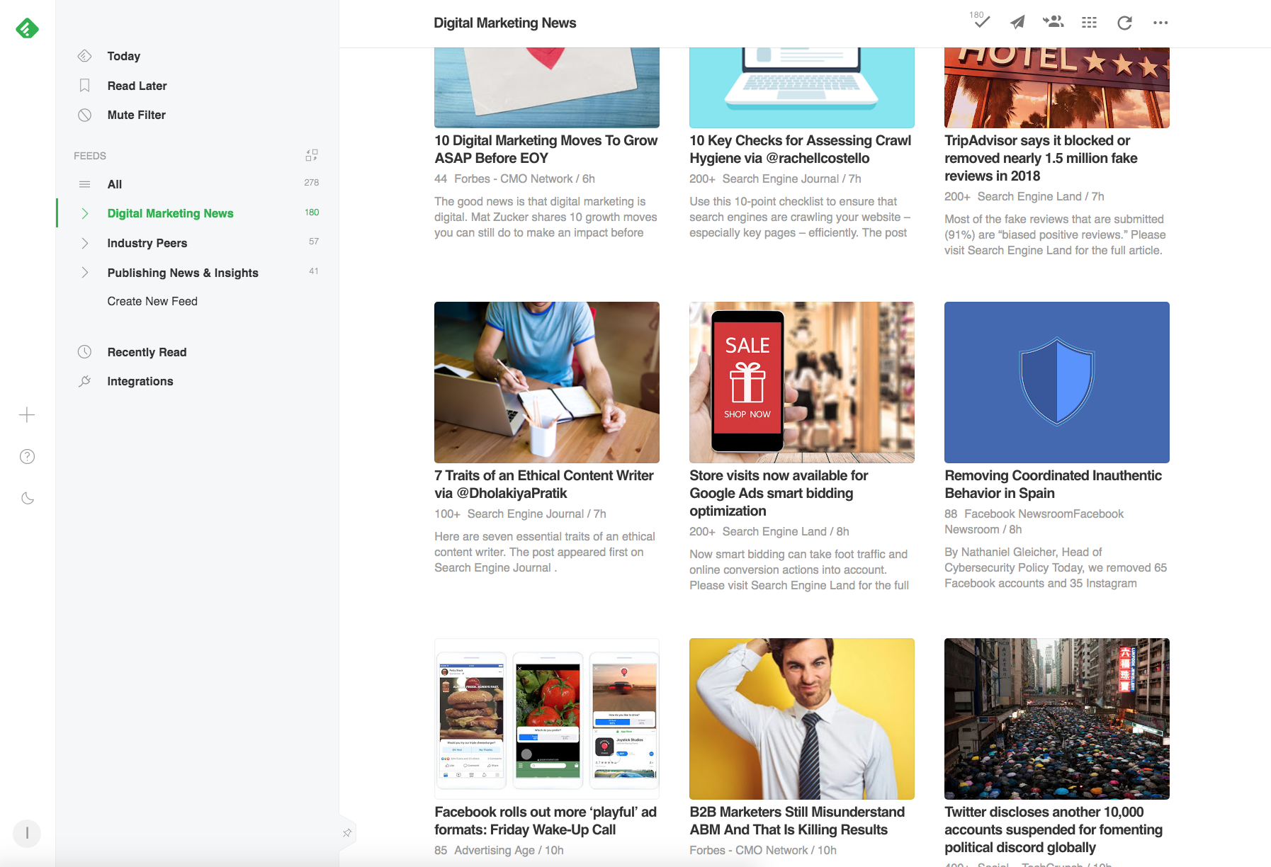 20 best digital marketing news sites updated for 20   IMPACT