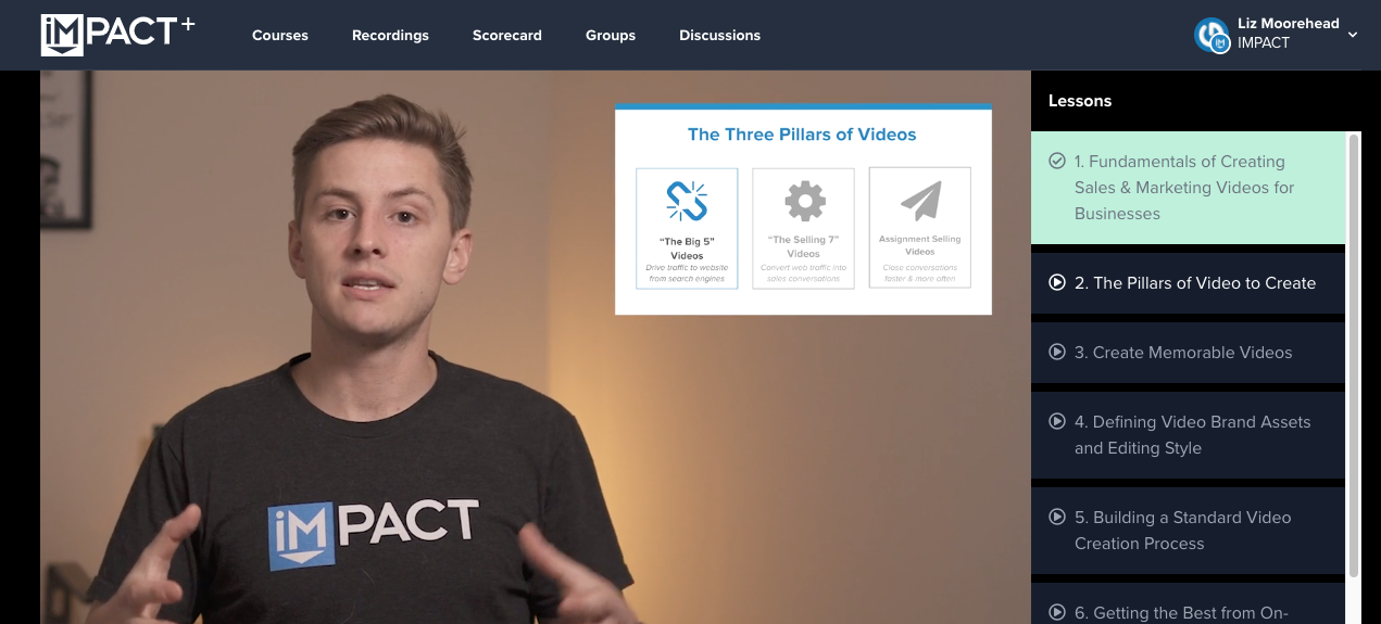 Online course: How to create a video sales and marketing strategy