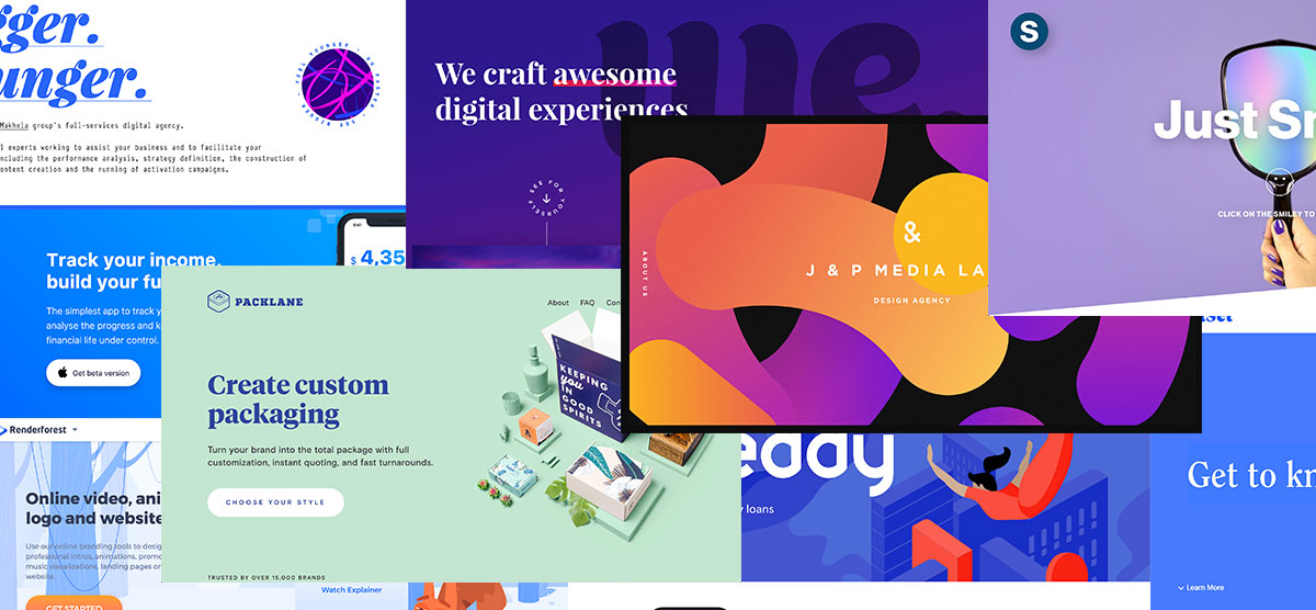 10 Creative Uses of the Website Hero Space We Adore