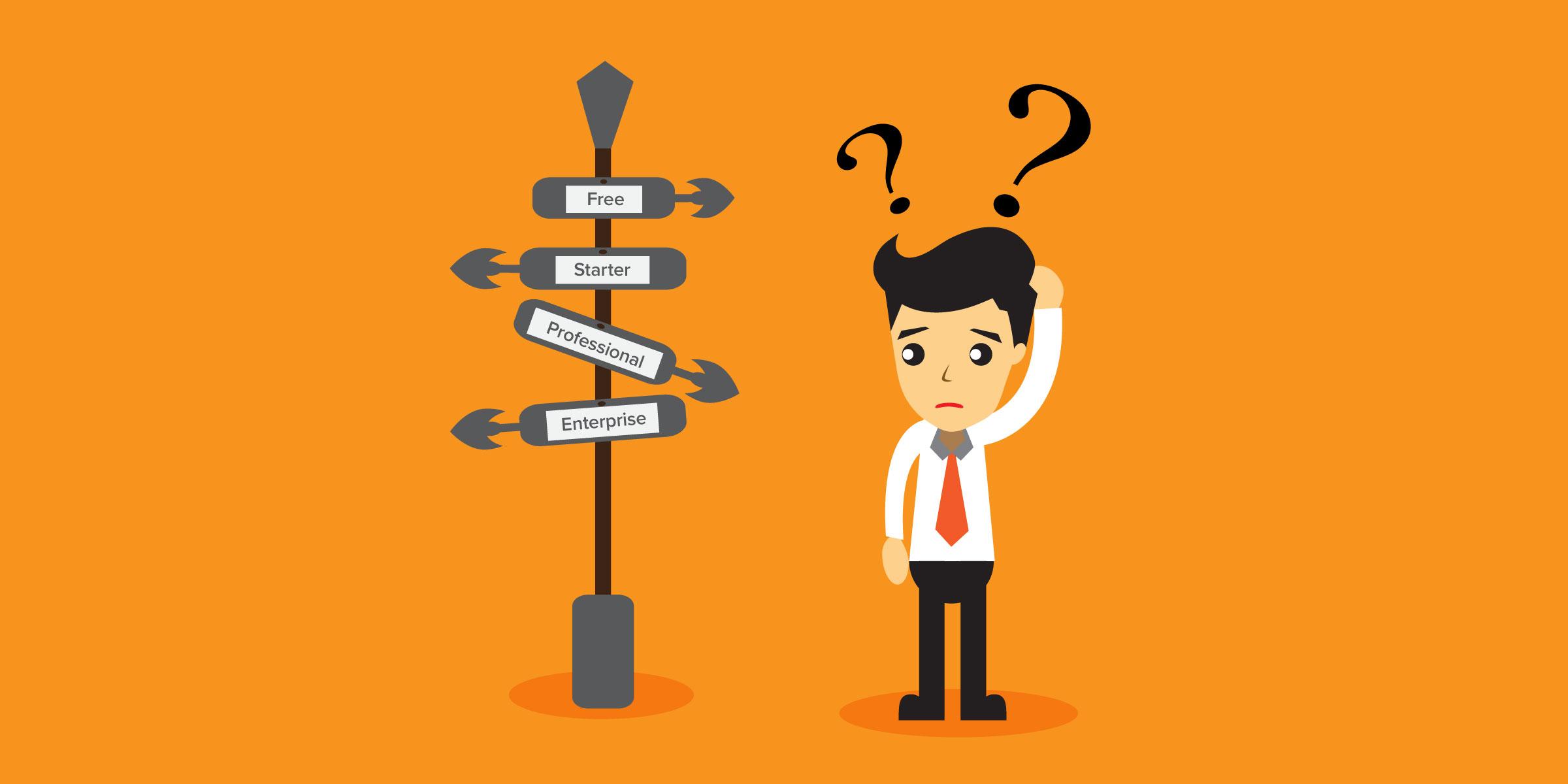 Which HubSpot Marketing Hub plan is right for you? Free vs. Starter vs. Pro vs. Enterprise
