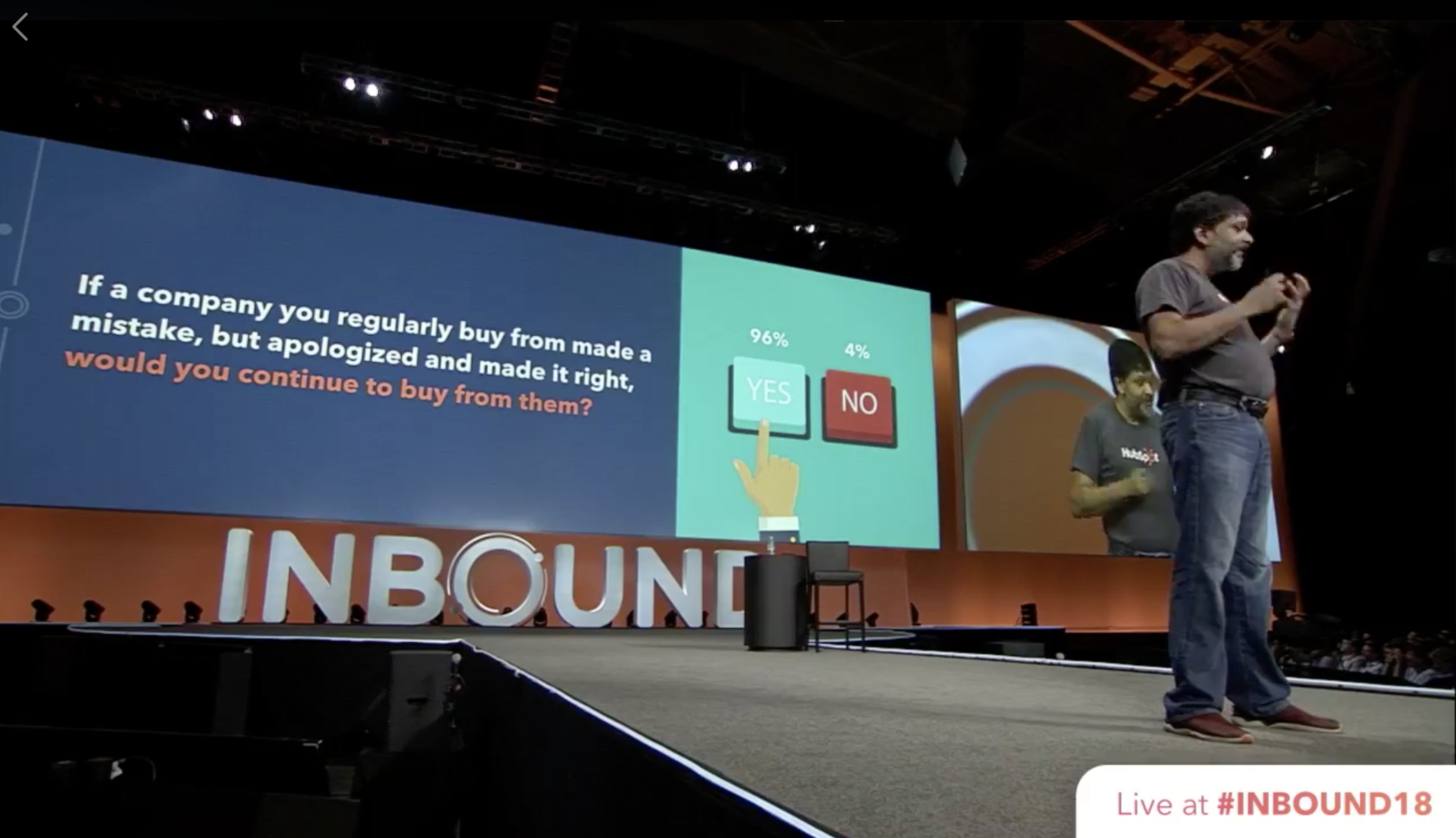 """HubSpot Outage During #INBOUND18 Is a Timely """"Own Your Screw-up"""" Lesson"""