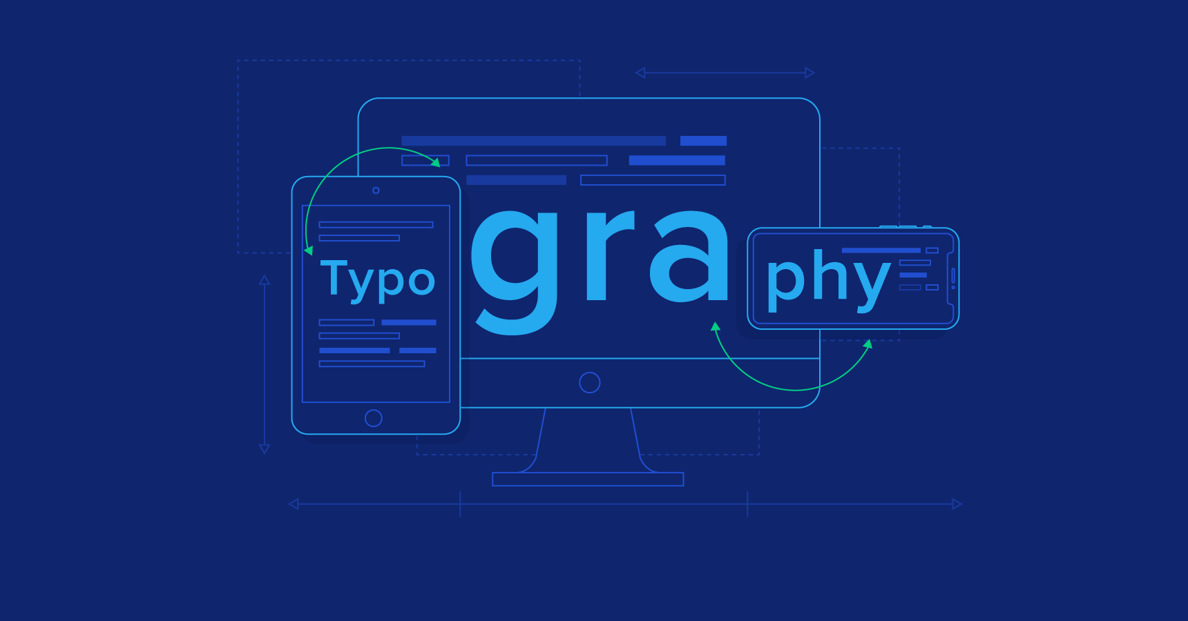 How to design for readability – a guide to successful web typography [Infographic]