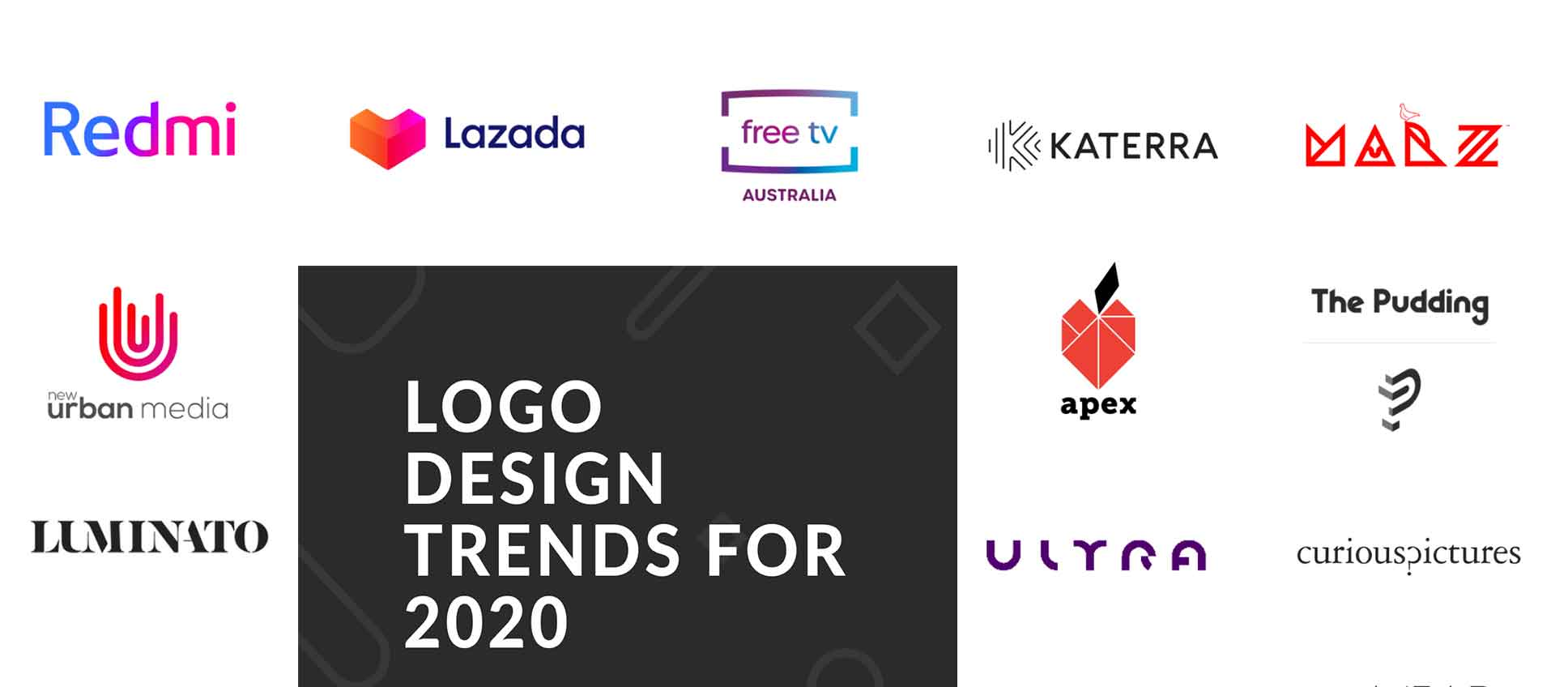 10 logo design trends to try in 2020 [Infographic]