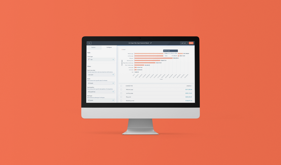 Content ROI examples: How to nail your reporting strategy with HubSpot